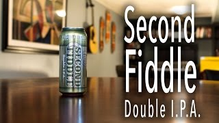 Second Fiddle Double IPA Beer Review