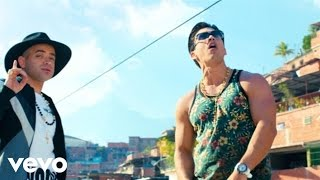 Chino & Nacho - Me Voy Enamorando ft. Farruko (Remix) (Official Music Video)