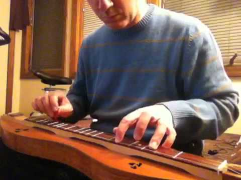 Morfa'r Frenhines (The Queen's Marsh) - fretted dulcimer (видео)