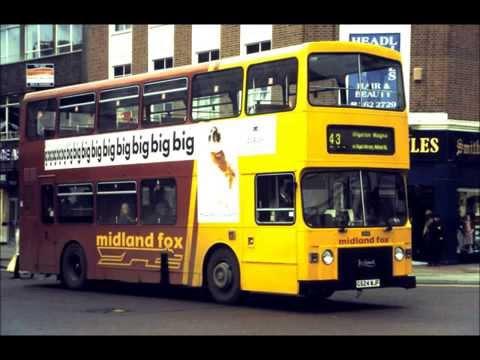 UK BUS ACTION PHOTO SLIDESHOW BRISTOL VR LODEKKA LEYLAND NATIONAL