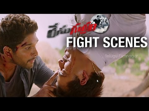 Race Gurram Action Scenes | Allu Arjun | Shruti Haasan | Saloni | Prakash Raj | S Thaman