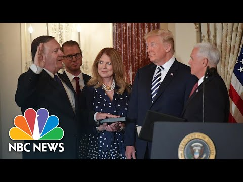 Mike Pompeo Sworn In As Secretary Of State, President Trump Expresses Absolute Confidence | NBC News
