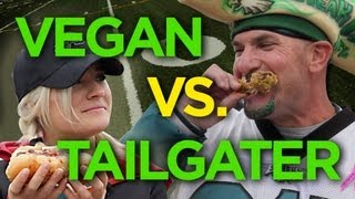 Vegan vs. Tailgater - Vegan Chili Wars at Heinz Field | The Edgy Veg