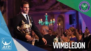 Roger Federer did a heavy round of media interviews after winning his historic eighth Wimbledon title. Photo: WimbledonSubscribe to our YouTube Channel: http://bit.ly/2dj6EhWVisit the official site of men's professional tennis: http://www.atpworldtour.com/FOLLOW THE ATP WORLD TOURWatch live and on demand: http://www.tennistv.com/Check live scores: http://www.atpworldtour.com/en/scoresView the latest rankings: http://www.atpworldtour.com/en/rankingsMeet the players: http://www.atpworldtour.com/en/playersFollow the tournaments: http://www.atpworldtour.com/en/tourna...Catch up on tennis news: http://www.atpworldtour.com/en/newsJOIN THE CONVERSATION!Download MyATP: http://www.myatp.com/Like us on Facebook: https://www.facebook.com/ATPWorldTour/Follow us on Twitter: https://twitter.com/ATPWorldTourFollow us on Instagram: https://www.instagram.com/atpworldtour/Follow us on Google+: https://plus.google.com/+ATPWorldTour