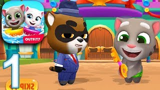 TALKING TOM POOL Gameplay Part 1 - Level 1-13 (iOS Android)