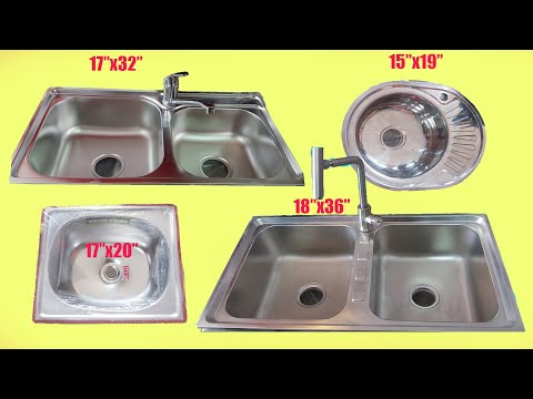 sink designs for kitchen ||Sink Size and Price