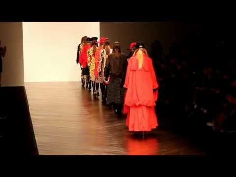 KTZ London Fashion week AW 13