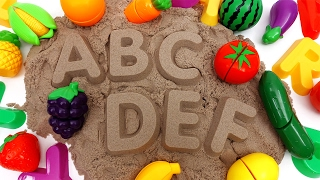 Video Learn Names of Fruits and Vegetables with Kinetic Sand~ Do You Know Them All? MP3, 3GP, MP4, WEBM, AVI, FLV Juli 2018