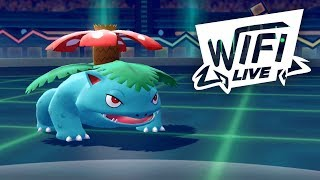 Pokemon Let's Go Pikachu & Eevee Wi-Fi Battle: Venusaur Steals Your Soul! (1080p)