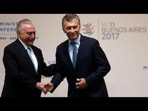 Στο Μπουένος Άιρες η 11η διάσκεψη του Παγκόσμιου Οργανισμού Εμπορίου…