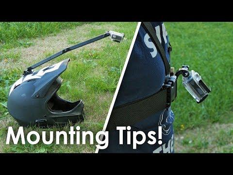 Best GoPro Mounting Tips for Mountain Biking (видео)