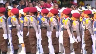 Download Video Parade polisi cilik di istana negara / Indonesia young police parade MP3 3GP MP4