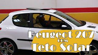 Peugeot 207 com Teto Solar H300 NSG