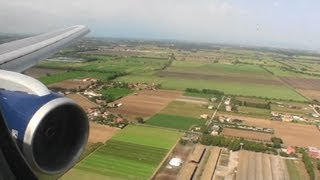 Fiumicino Italy  city photo : Welcome to Italy!!! Gorgeous HD 767 Landing At Rome Fiumicino Airport!!!