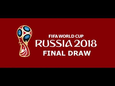 FIFA WORLD CUP 2018 FINAL DRAW AND MATCH SCHEDULE