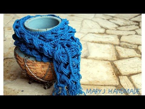 uncinetto - sciarpa molto semplice
