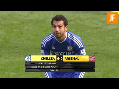 Chelsea 6-0 Arsenal Gunners Fuse [ 2013 / 2014 ] HD