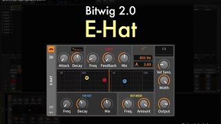 Bitwig 2.0 - E-Hat Overview