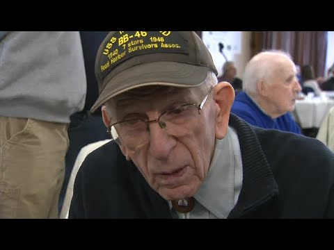 Web Extra: Pearl Harbor Survivor Floyd Welch describes his experience that day