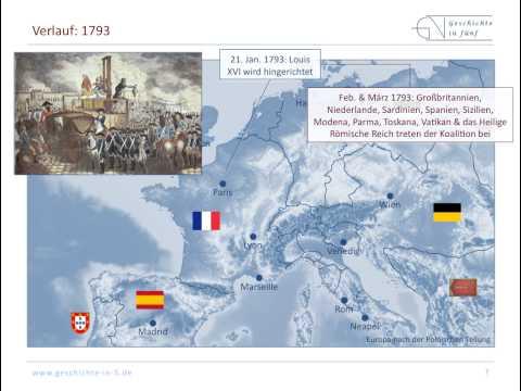 Frankreich: Erster Koalitionskrieg / Revolutionskrieg ...