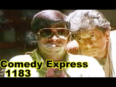 Comedy Express 1183 || Back to Back || Telugu Comedy Scenes