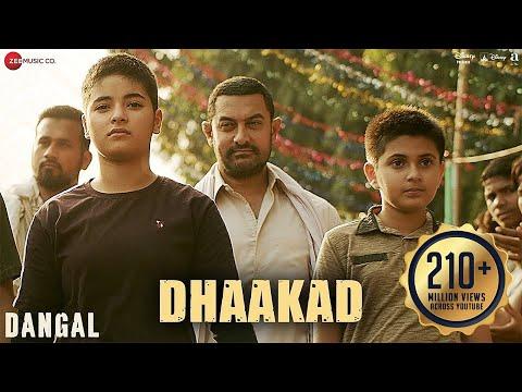 Dhaakad – Dangal | Aamir Khan | Pritam | Amitabh Bhattacharya | Raftaar