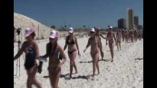 World's Largest Bikini Parade Panama City Beach Spring Break 2012