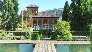 Granada Spain  city photo : Alhambra - Granada, Andalusia, Spain in HD