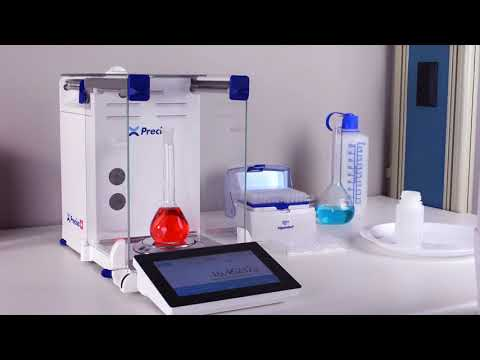 Precisa H Series Touchscreen Laboratory Balance From Intelligent Weighing