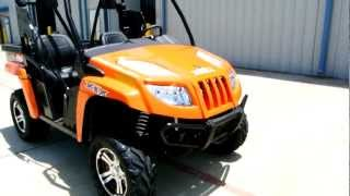 2. 2012 Arctic Cat Prowler 700 XTX Orange Metallic