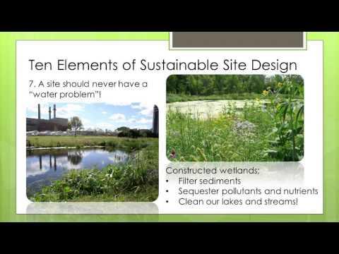 Top Ten Elements of Sustainable Landscape Design