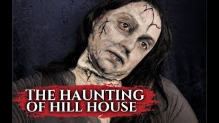 THE HAUNTING OF HILL HOUSE BENT NECK WOMAN MAKEUP! by Kat Sketch