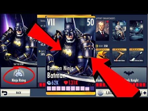 Batman Ninja Batman! Injustice Gods Among Us 2.21! IOS/Android!