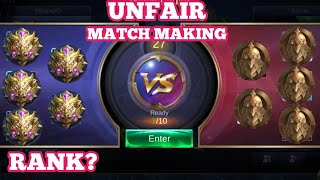 Nonton Unfair Match Making  Ideas For Improvement   Mobile Legends   Film Subtitle Indonesia Streaming Movie Download