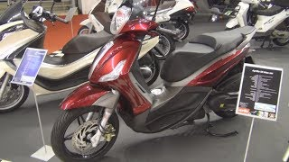 8. Piaggio Beverly 350 Sport Touring Exterior and Interior