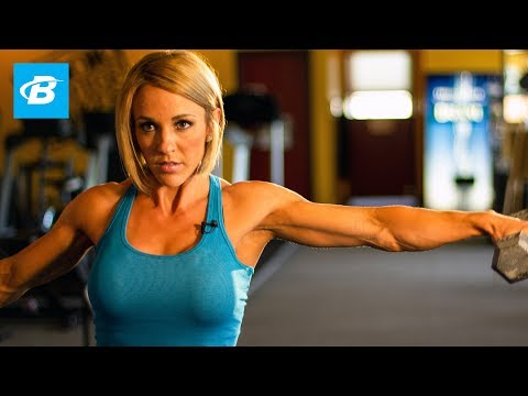 Jessie Hilgenberg's Shoulder Smash Workout – Bodybuilding.com