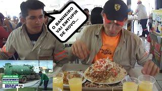 ele está de volta,o cara que não dispensa nada,quando se trata de comida!!!!! uma vez um colega de trabalho na hora do almoço fez a seguinte pergunta ao ...