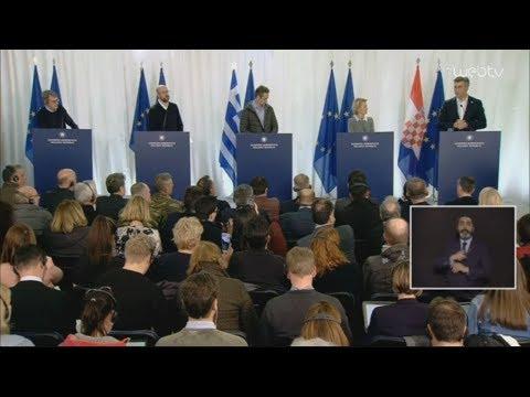 Οι δηλώσεις  Ευρωπαίων ηγετών στην κοινή συνέντευξη Τύπου  με τον Πρωθυπουργό Κυριάκο Μητσοτάκη
