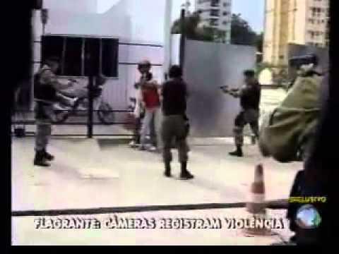 Morte ao vivo diante das cameras   REDE RECORD MINAS