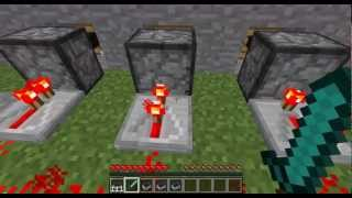 [TuT] Minecraft - Detector Rail/Sensorschiene Tutorial [HD/GERMAN]