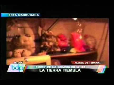Sismo de 6.3 grados en la escala de Richter remece Chile