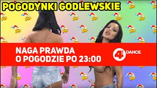 Prognoza pogody topless! Siostry Godlewskie zapraszają na swój program w TV!