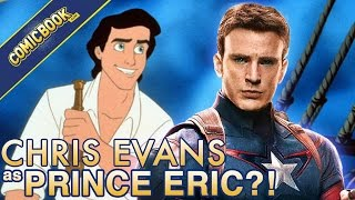 Chris Evans Teases Interest In Prince Eric, West Side Story Remake by Comicbook.com