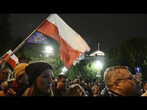 Διαδηλώνουν οι δικαστές στην Πολωνία