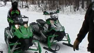1. 2010 arctic cat snopro 500 vs. 2010 f6 snopro