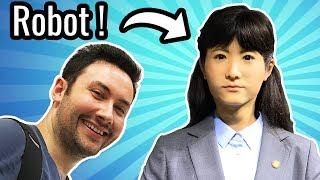 Video CETTE FEMME EST UN ROBOT ! (Musée du Futur à Tokyo) MP3, 3GP, MP4, WEBM, AVI, FLV Agustus 2017