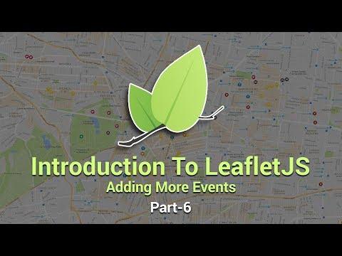 Introduction To Leaflet JS | Adding More Events | Part 6 | Eduonix