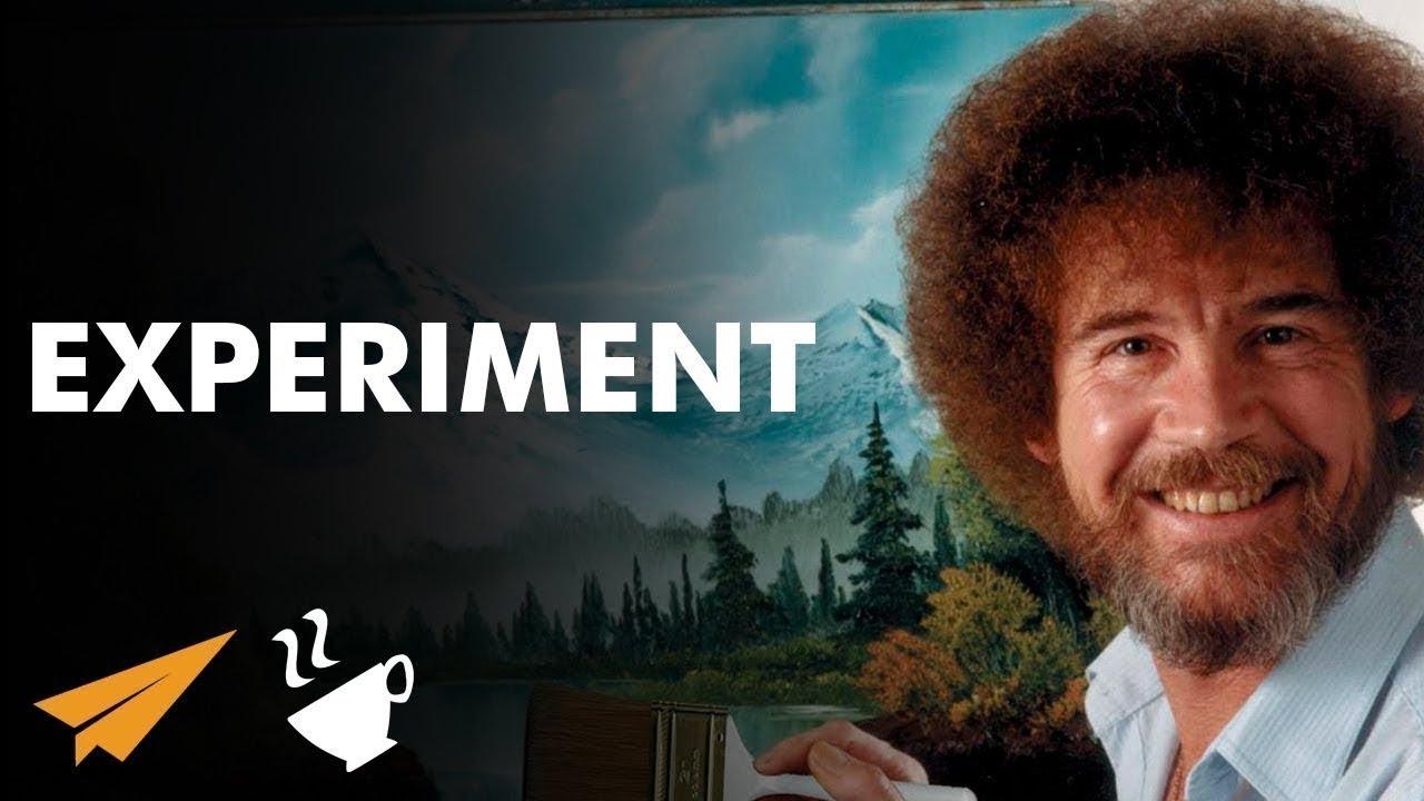 EXPERIMENT - Bob Ross - #Entspresso