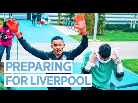 Video: BRAZILIAN KEEPERS EVERYWHERE! | Training for Liverpool