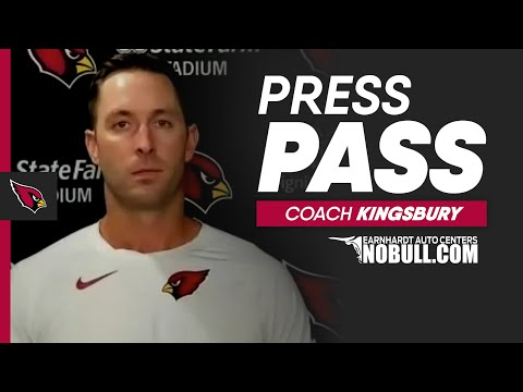 Coach Kingsbury: 'We Were Disjointed The Entire Night'   Arizona Cardinals